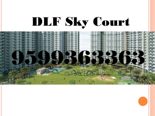 DLF Sky Court Sector 86 Gurgaon