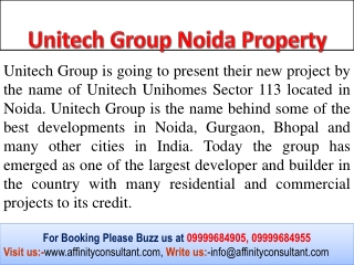 Unitech Group Noida Property