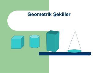 Geometrik Sekiller