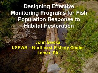 Designing Effective Monitoring Programs for Fish Population Response to Habitat Restoration