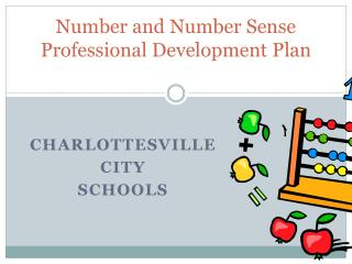 Number and Number Sense Professional Development Plan