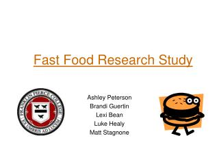 Fast Food Research Study