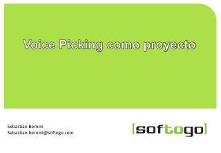 Voice Picking como proyecto