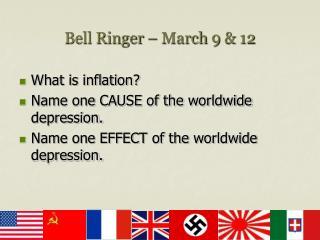 Bell Ringer   March 9  12