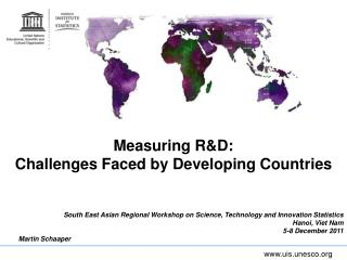 Measuring RD:  Challenges Faced by Developing Countries