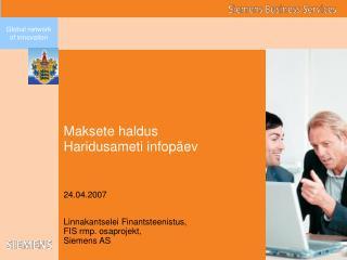 Maksete haldus Haridusameti infop ev