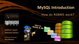 Introduction to MySQL  PHP