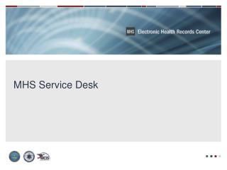 MHS Service Desk