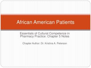 African American Patients