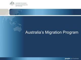 Australia s Migration Program