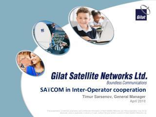 SATCOM in Inter-Operator cooperation