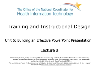 Microsoft  Office  PowerPoint  2007 Training