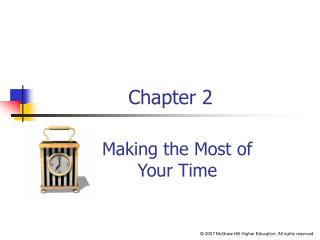 Making the Most of Your Time