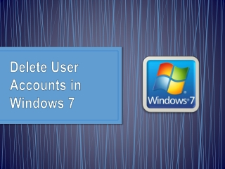 L14InP (Delete user account in window 7)