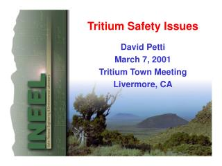 Tritium Safety Issues