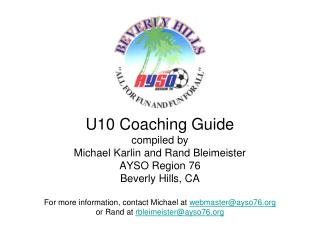 U10 Coaching Guide