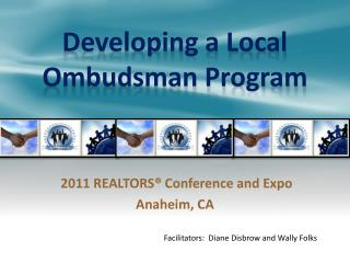 Developing a Local Ombudsman Program