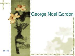 George Noel Gordon