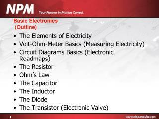 Basic Electronics  Outline