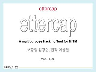 A multipurpose Hacking Tool for MITM