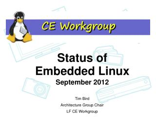Status of Embedded Linux
