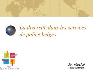 La diversit  dans les services de police belges