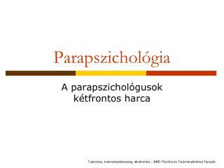 Parapszichol gia