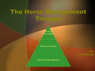 The Horse Management Triangle