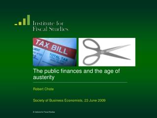 The public finances and the age of austerity