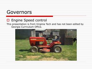 Governors