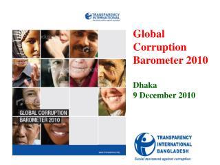 TI Global Corruption Barometer 2010