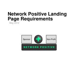 Network Positive Landing Page Requirements
