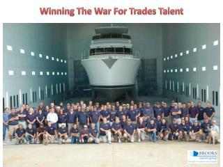 Winning The War For Trades Talent