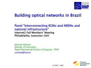Building optical networks in Brazil