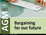 BC Teachers  Federation 2011 AGM  Bargaining