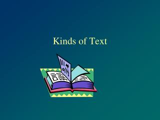 Kinds of Text