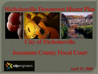 Nicholasville Downtown Master Plan   City of Nicholasville Jessamine County Fiscal Court