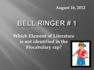 Bell Ringer  1