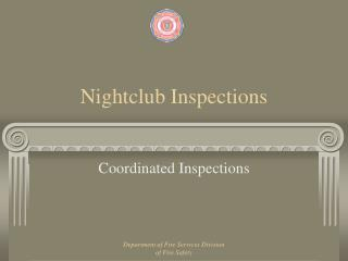 Nightclub Inspections