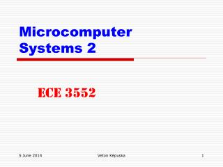Microcomputer  Systems 2