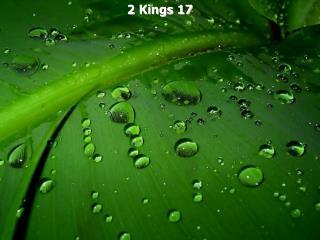 2 Kings 17