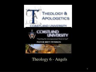 Theology 6 - Angels