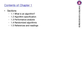 Contents of Chapter 1