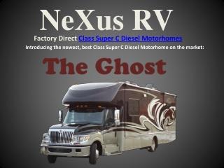 NeXus RV Introduces 2014 Class Super C Diesel Motorhomes