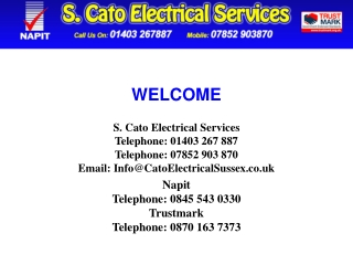 Electricians in Horsham