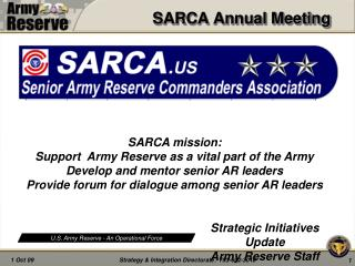 SARCA Annual Meeting