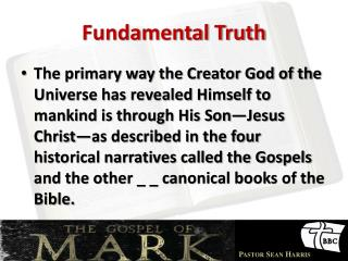 Fundamental Truth