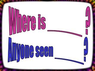 Where is ______