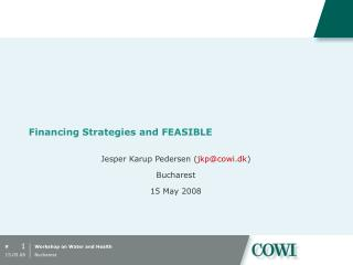 Financing Strategies and FEASIBLE