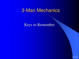 2012 NFHS Mechanics